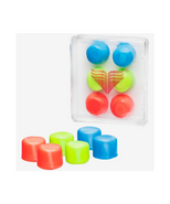 Беруши Youth Multi-Colored Silicone Ear Plugs, LEPY/970, мультиколор TYR УТ-00017639