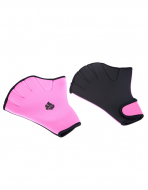 Акваперчатки Aquafitness Gloves размер L Pink-Black MAD WAVE M0746 03 6 03