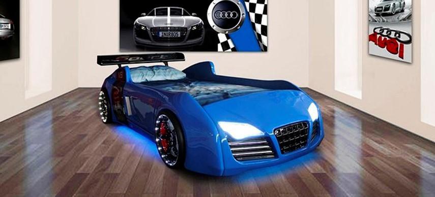 Кровать в виде машины фото