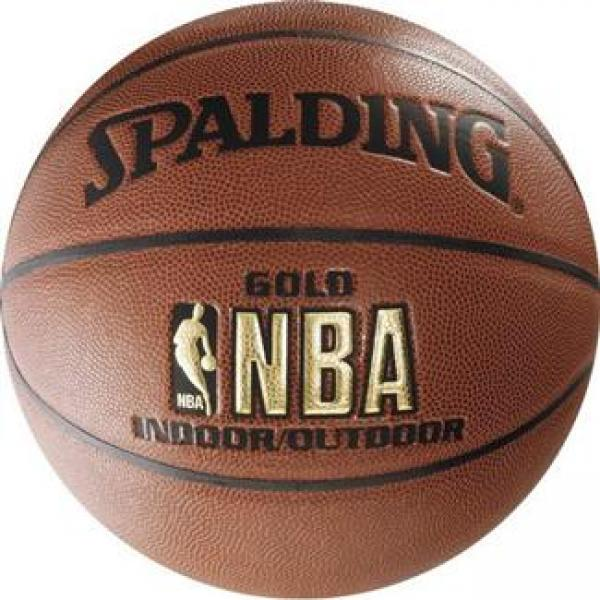Баскетбольный мяч Spalding NBA Gold Series Indoor/Outdoor - …