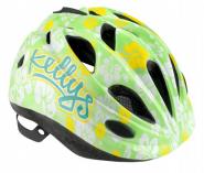 Шлем детский kelly s buggie зелёные цветы l